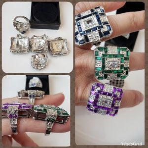 Beautiful huge statement Rings price for one
